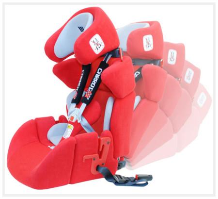 Fotelik samochodowy Carrot 3 Basic L dla niepełnosprawnych dzieci z przedłużką siedziska dużą L